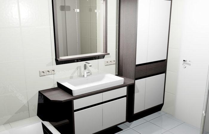 Bad - Waschbecken - Wiesner Tischlermöbel
