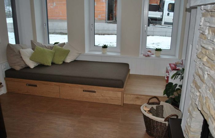 Wohnzimmer - Liegebereich - Wiesner Tischlermöbel