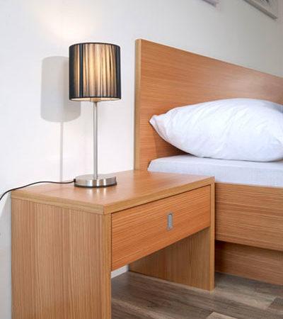 Modern - Classique - Bettdetail - Wiesner Tischlermöbel