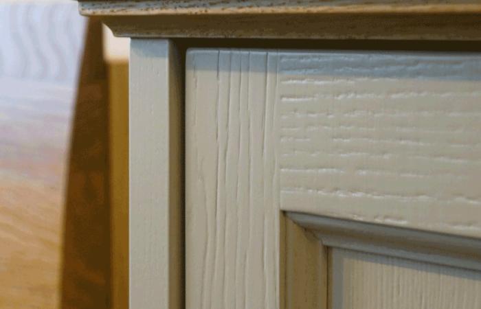Küche - Holz - Oberflächendetail - Wiesner Tischlermöbel