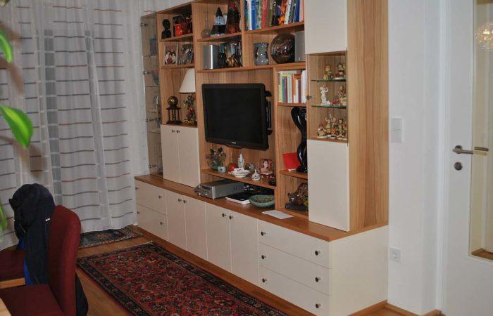 Wohnzimmer - Verbau - Wiesner Tischlermöbel