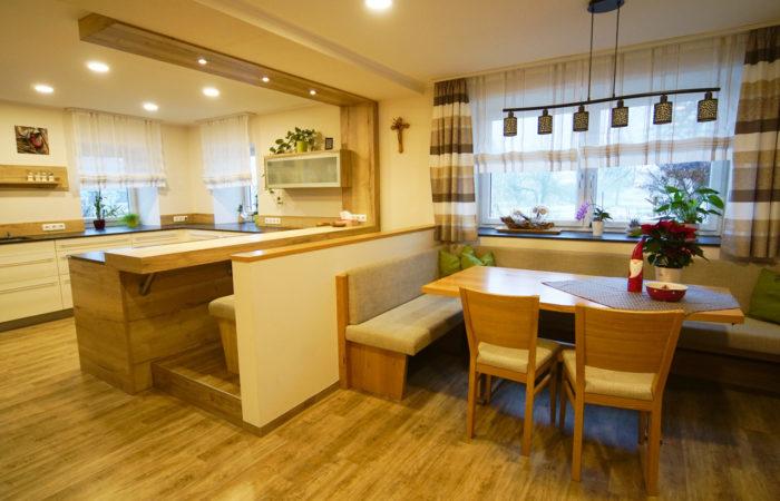 Küche-Esszimmer - Wiesner Tischlermöbel