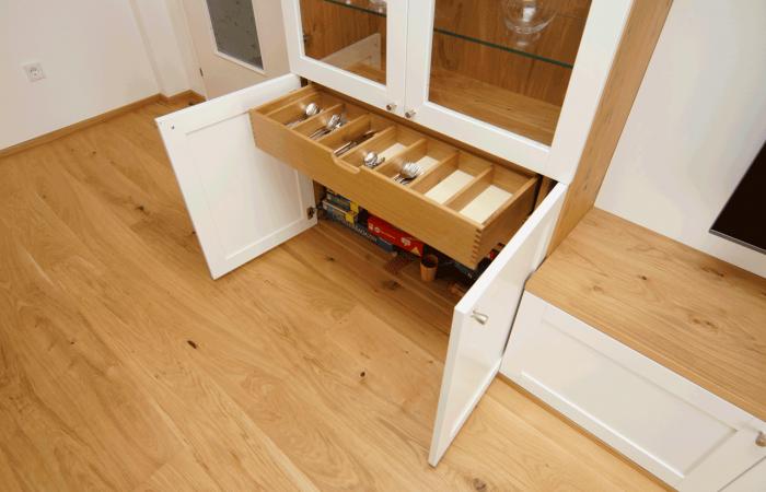 Wohnzimmer - Detail - Wiesner Tischlermöbel